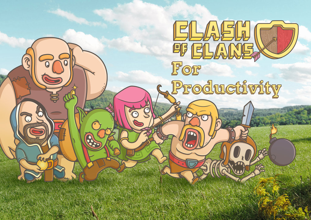 Clash of Clan for Productivity